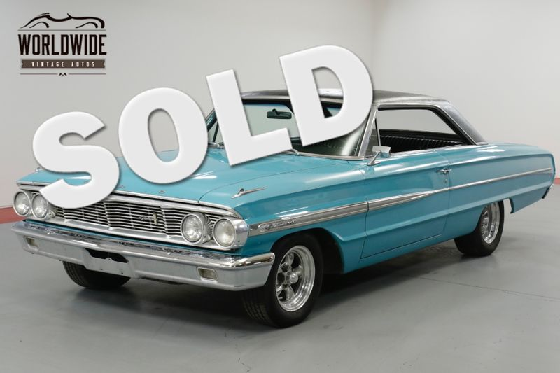 1964 Ford GALAXIE 500 RESTORED. V8. C4 AUTOMATIC. PS PB MUST SEE!  | Denver, CO | Worldwide Vintage Autos