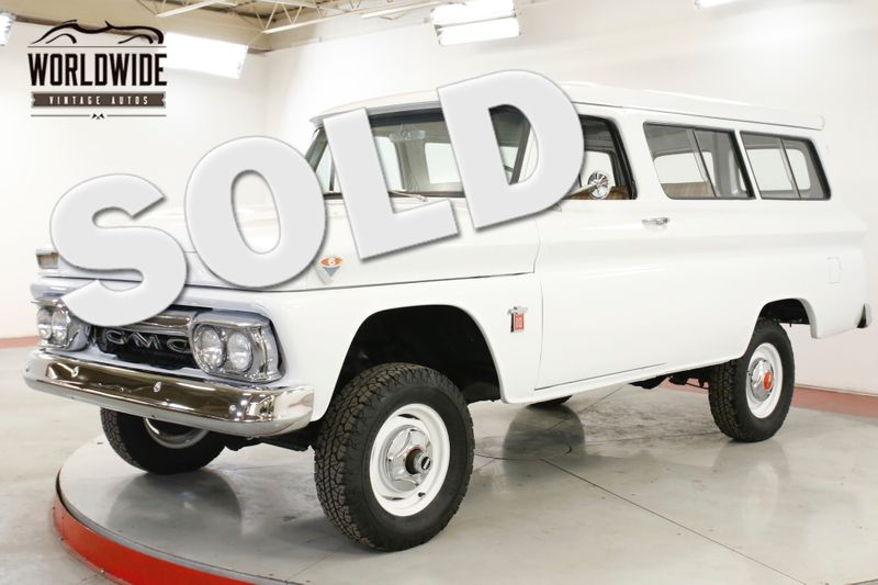1964 GMC SUBURBAN RESTORED K10 RARE 4x4 COLLECTOR NAPCO | Denver, CO | Worldwide Vintage Autos