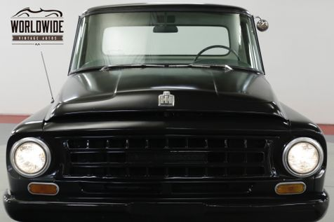 1964 International C1000  SHORTBOX MATTE BLACK V8 MUST SEE  | Denver, CO | Worldwide Vintage Autos in Denver, CO