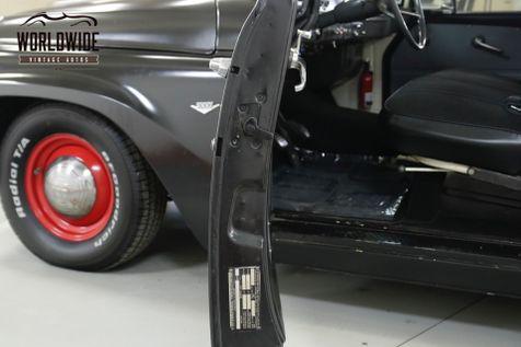 1964 International C1000  SHORTBOX MATTE BLACK V8 MUST SEE  | Denver, CO | Worldwide Vintage Autos in Denver, CO