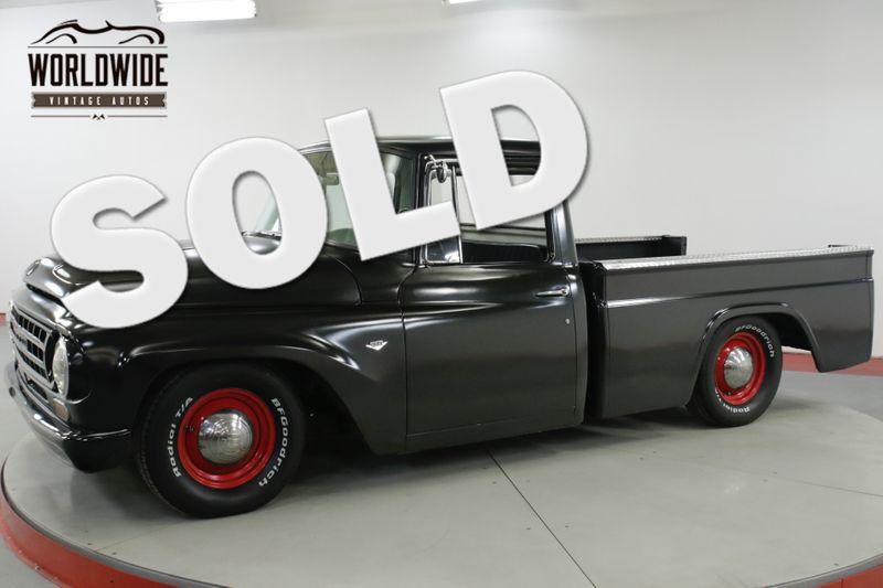 1964 International C1000  SHORTBOX MATTE BLACK V8 MUST SEE    Denver, CO   Worldwide Vintage Autos