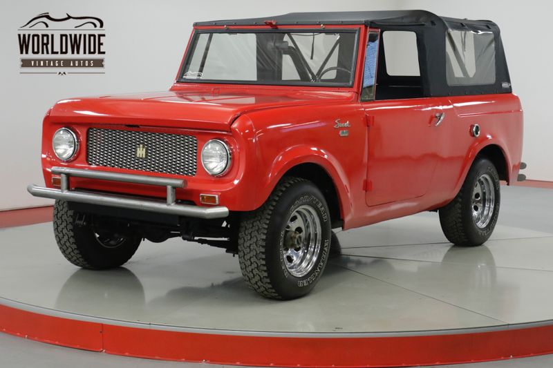 1964 International SCOUT  NEW SOFT TOP- ALL WHEEL DRIVE. CLEAN!    Denver, CO   Worldwide Vintage Autos