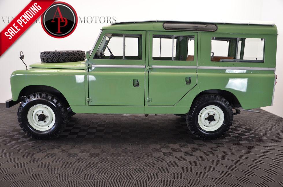 a03367f1e 1964 Land Rover SERIES-IIA 109