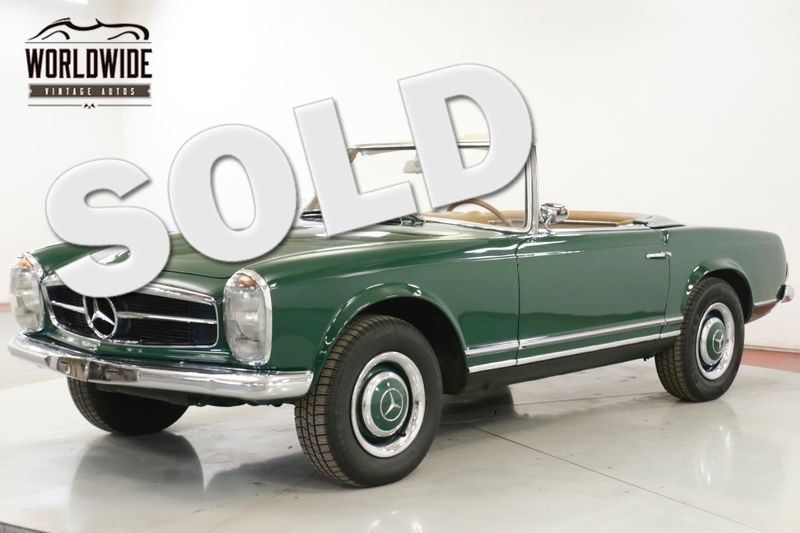 1964 Mercedes-Benz 230SL CONVERTABLE 2300CC ENGINE CHROME PB (VIP) | Denver, CO | Worldwide Vintage Autos