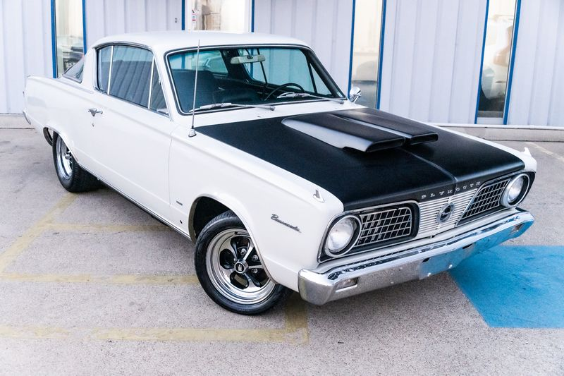 1966 Plymouth Barracuda BADA$$ 1 OF A KIND BARRACUDA 408 STROKER 5 SPD!!   in Rowlett, Texas