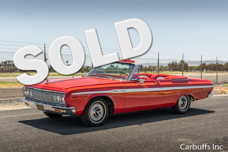 1964 Plymouth Sport Fury  Convertible | Concord, CA | Carbuffs