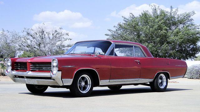 1964 Pontiac BONNEVILLE W/BUILD SHEET 2 DOOR SPORT COUPE A/C, 51,000 ORIG MILES Phoenix, Arizona 5