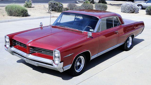 1964 Pontiac BONNEVILLE W/BUILD SHEET 2 DOOR SPORT COUPE A/C, 51,000 ORIG MILES Phoenix, Arizona 9