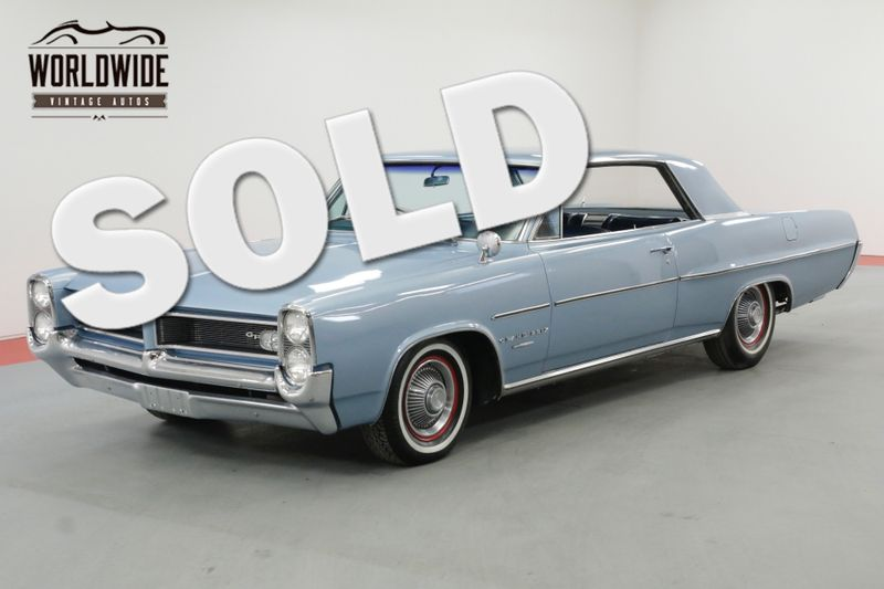 1964 Pontiac GRAND PRIX 389V8 AUTOMATIC A/C POWER WINDOWS MUST SEE | Denver, CO | Worldwide Vintage Autos