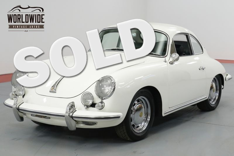 1964 Porsche 356 C 3RD IN CLASS AT THE 2013 PALO ALTO CONCOURS  | Denver, CO | Worldwide Vintage Autos