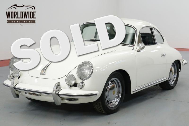 1964 Porsche 356 C 3RD IN CLASS AT THE 2013 PALO ALTO CONCOURS    Denver, CO   Worldwide Vintage Autos