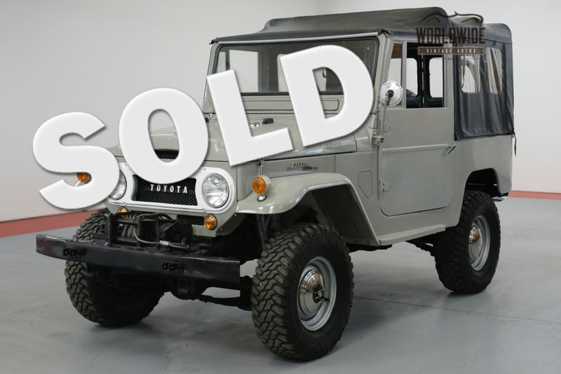 1964 Toyota LAND CRUISER  FJ40. FRAME UP RESTORED COLLECTOR. RARE 4x4 | Denver, CO | Worldwide Vintage Autos