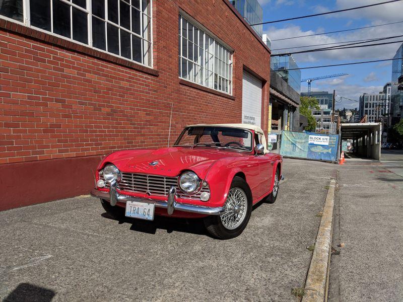 1964 Triumph TR-4 Roadster Convertible 82000 Orig Miles Local 1 Owner History Records 1st Time Offered For Sale  city Washington  Complete Automotive  in Seattle, Washington