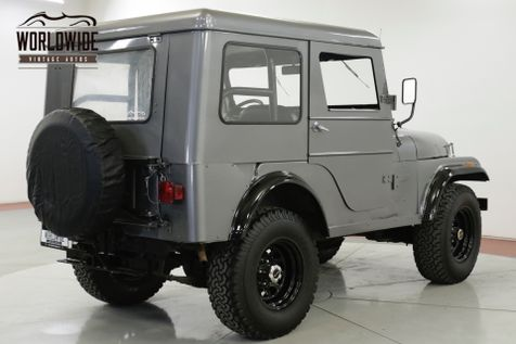 1964 Willys CJ-5 4X4 CONVERTIBLE TOP PTO WINCH OVERDRIVE | Denver, CO | Worldwide Vintage Autos in Denver, CO