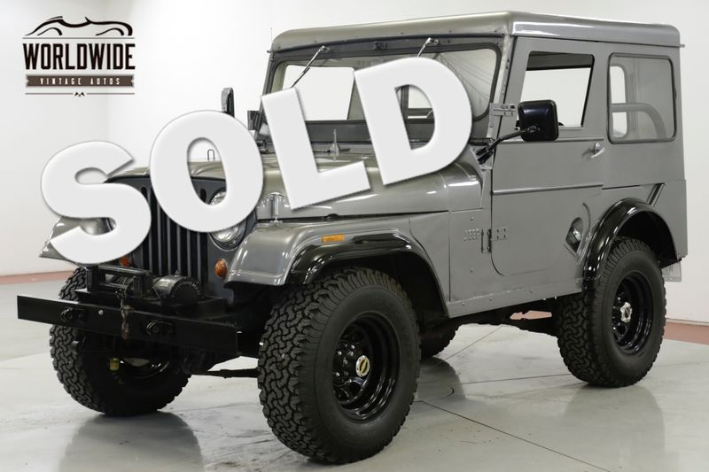 1964 Willys CJ-5 4X4 CONVERTIBLE TOP PTO WINCH OVERDRIVE | Denver, CO | Worldwide Vintage Autos