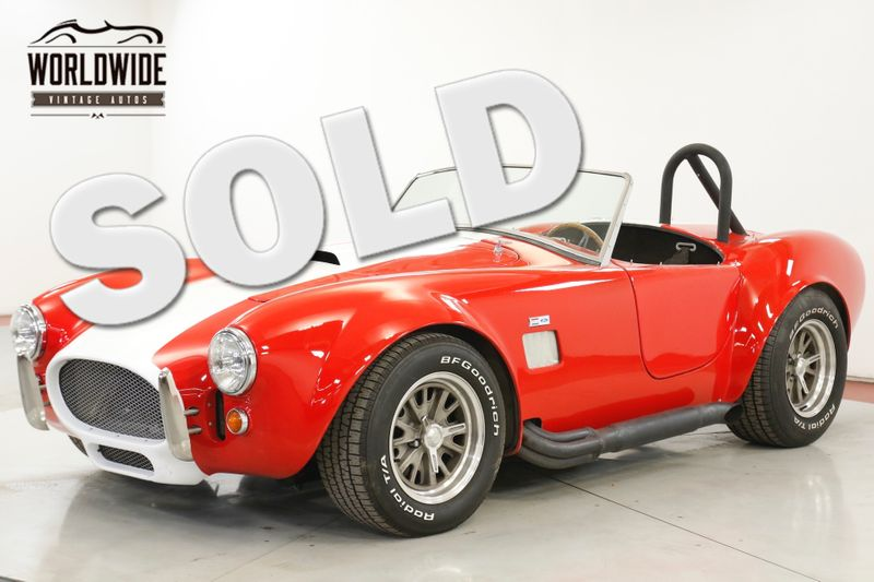 1965 Shelby COBRA RECREATION. BORED 351. DISC BRAKES. TREMEC TRANS.  | Denver, CO | Worldwide Vintage Autos