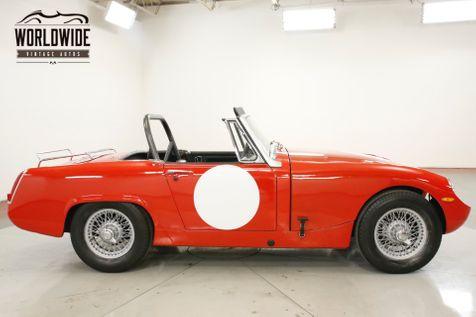 1965 Austin BUG EYE SPRITE CLEAN. 4 SPD. CONVERTIBLE. SHOW OR GO  | Denver, CO | Worldwide Vintage Autos in Denver, CO