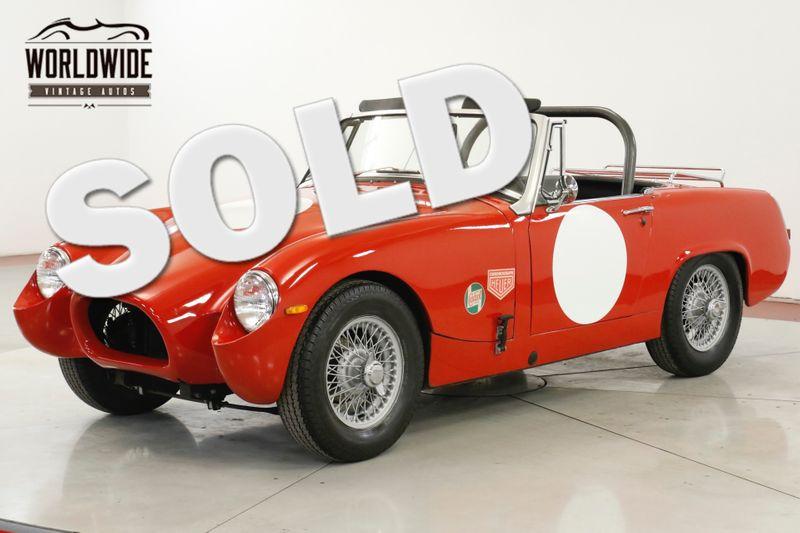 1965 Austin BUG EYE SPRITE CLEAN. 4 SPD. CONVERTIBLE. SHOW OR GO  | Denver, CO | Worldwide Vintage Autos