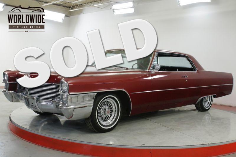 1965 Cadillac CALAIS 429V8. AUTOMATIC. CUSTOM OPTIONS. MUST SEE | Denver, CO | Worldwide Vintage Autos
