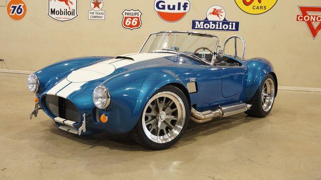 1965 Shelby Cobra Replica BACKDRAFT RACING ROADSTER 1329