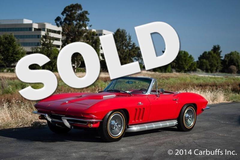 1965 Chevrolet Corvette Roadster | Concord, CA | Carbuffs