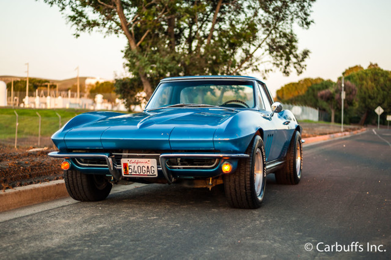 1965 Chevrolet Corvette Roadster   Concord, CA   Carbuffs in Concord, CA