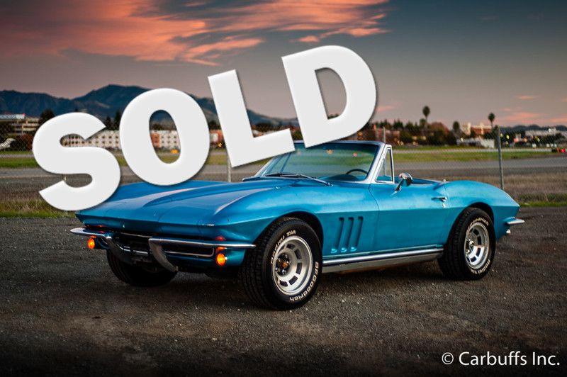 1965 Chevrolet Corvette Roadster   Concord, CA   Carbuffs