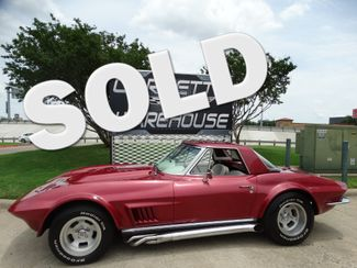 1965 Chevrolet Corvette Convertible 327/4-Speed, Side Exhaust, NICE! | Dallas, Texas | Corvette Warehouse  in Dallas Texas