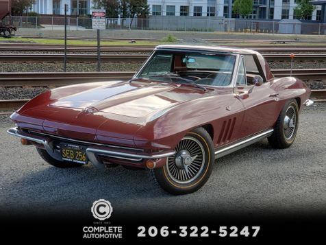1965 Chevrolet Corvette Stingray Convertible Matching L79 V8 Factory AC Knockoffs Hard Top in Seattle