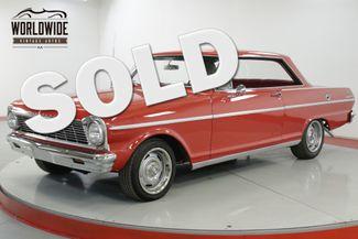 1965 Chevrolet II NOVA  327 V8 AUTOMATIC BUCKET SEATS NO POST   Denver, CO   Worldwide Vintage Autos in Denver CO