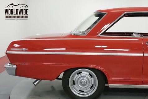 1965 Chevrolet II NOVA  327 V8 AUTOMATIC BUCKET SEATS NO POST | Denver, CO | Worldwide Vintage Autos in Denver, CO