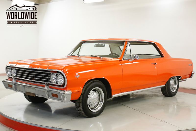 1965 Chevrolet MALIBU CHROME PS PB BEAUTIFUL WHITE INTERIOR  | Denver, CO | Worldwide Vintage Autos