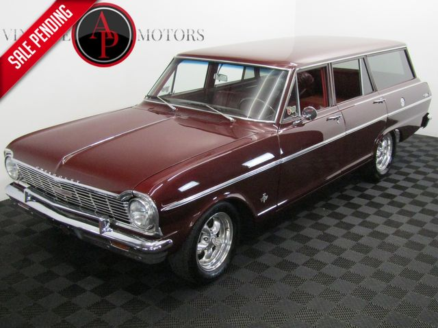 1965 Chevrolet NOVA 327 4 SPEED AC FRONT DISC BRAKES