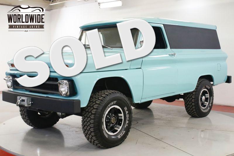 1965 Chevrolet PANEL  350 V8 4-SPEED 4X4 RESTORED PS PB | Denver, CO | Worldwide Vintage Autos