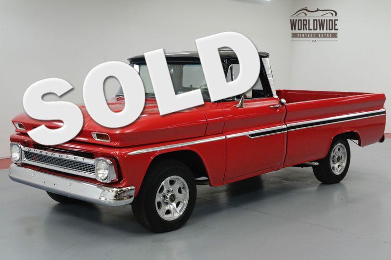 1965 Chevrolet C10 CUSTOM 307CI V8 3 SPEED TURBO AUTO.   Denver, CO   Worldwide Vintage Autos