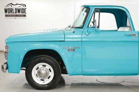 1965 Dodge TRUCK D100 TRUCK 440 V8 SHORT BED PS PB RESTOMOD | Denver, CO | Worldwide Vintage Autos in Denver, CO