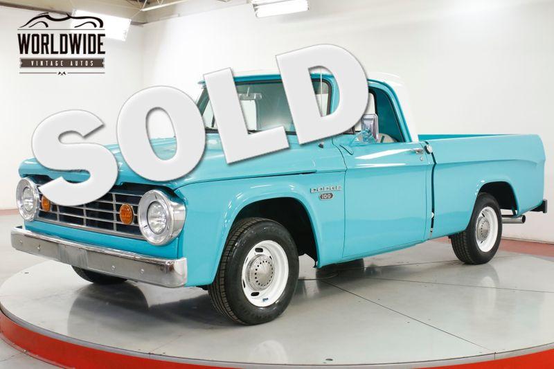 1965 Dodge TRUCK D100 TRUCK 440 V8 SHORT BED PS PB RESTOMOD | Denver, CO | Worldwide Vintage Autos