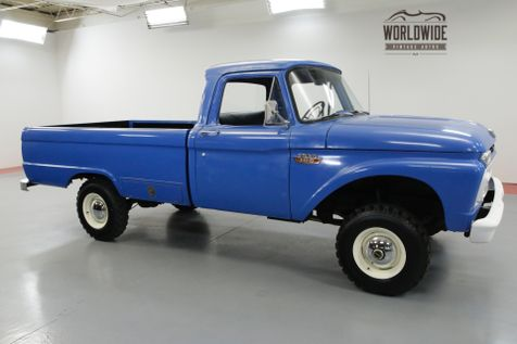 1965 Ford F100 FACTORY 4X4 WITH 390 V8. RARE! | Denver, CO | Worldwide Vintage Autos in Denver, CO