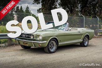 1965 Ford Mustang Convertible   Concord, CA   Carbuffs in Concord