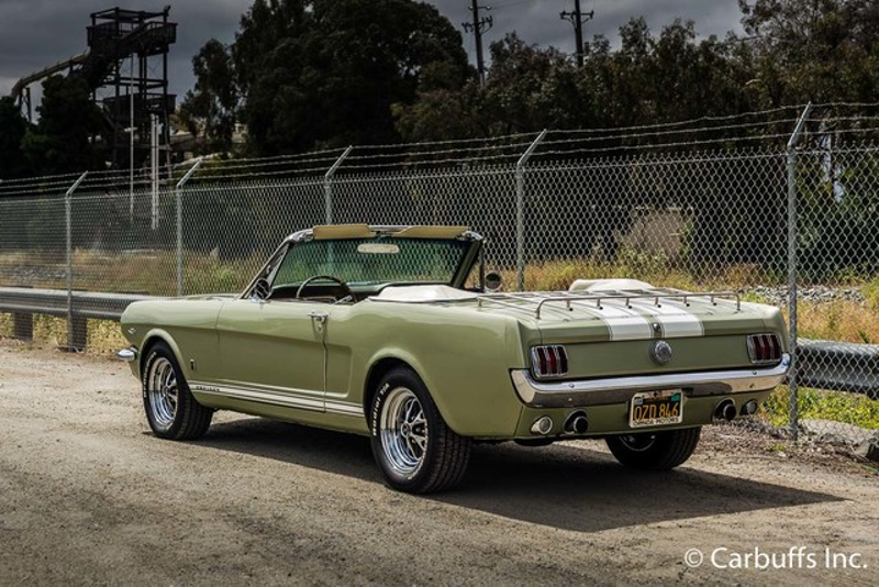 1965 Ford Mustang Convertible   Concord, CA   Carbuffs in Concord, CA