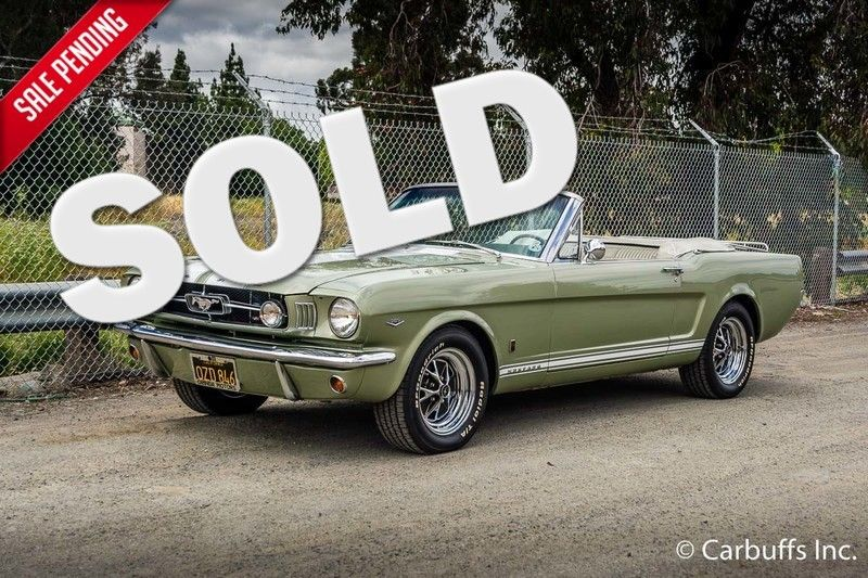 1965 Ford Mustang Convertible   Concord, CA   Carbuffs