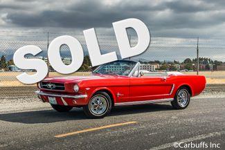 1965 Ford Mustang Conv 1964 1/2   Concord, CA   Carbuffs in Concord