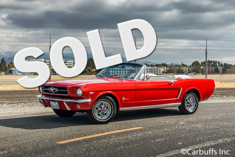 1965 Ford Mustang Conv 1964 1/2 | Concord, CA | Carbuffs