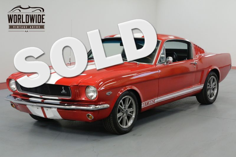 1965 Ford MUSTANG FASTBACK. HEIDTS. DISCS. 4 SPEED!  | Denver, CO | Worldwide Vintage Autos