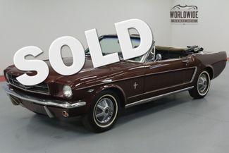 1965 Ford MUSTANG CONVERTIBLE 289 AUTO ORIGINAL. | Denver, CO | Worldwide Vintage Autos in Denver CO