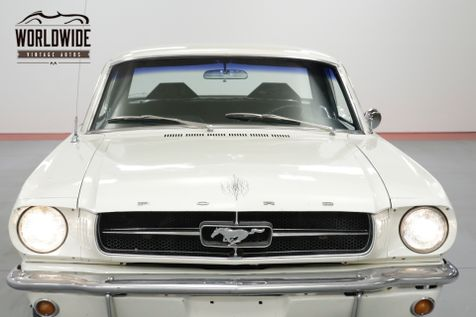 1965 Ford MUSTANG WIMBLEDON WHITE.    Denver, CO   Worldwide Vintage Autos in Denver, CO