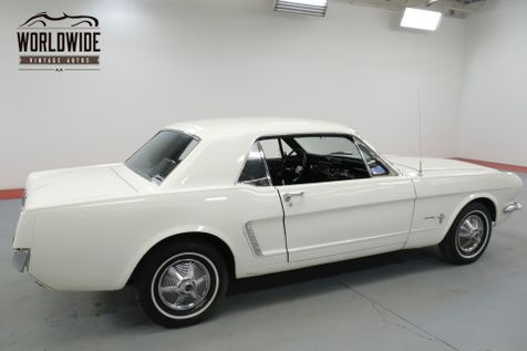1965 Ford MUSTANG WIMBLEDON WHITE.  | Denver, CO | Worldwide Vintage Autos in Denver, CO