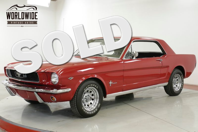 1965 Ford MUSTANG  289 V8 AUTO FACTORY A/C READY FOR SUMMER    Denver, CO   Worldwide Vintage Autos