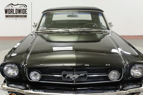 1965 Ford MUSTANG  GT 289 V8 C-4 TRANSMISSION PS PB | Denver, CO | Worldwide Vintage Autos in Denver, CO