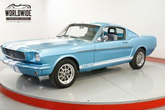 1965 Ford MUSTANG FASTBACK V8. 5-SPEED GT 350 CLONE 4-WHEEL DISC | Denver, CO | Worldwide Vintage Autos in Denver CO